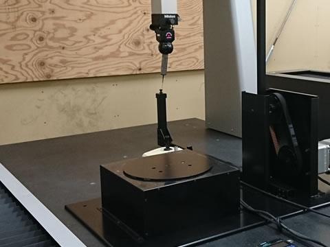 0.01mmの動作の正確性