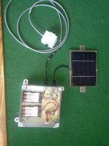 ソーラー、CPU,LED1―小